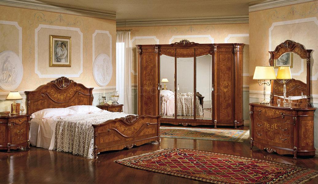 Итальянский спальный гарнитур фото